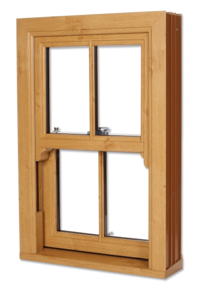 Vertical Sliding Sash - Advance PVCu Trade Frames